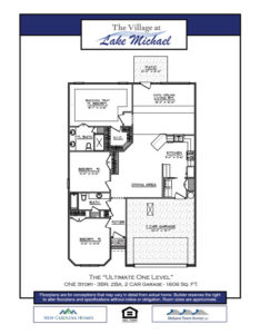 Marketing Floor Plan - A Ultimate One Level
